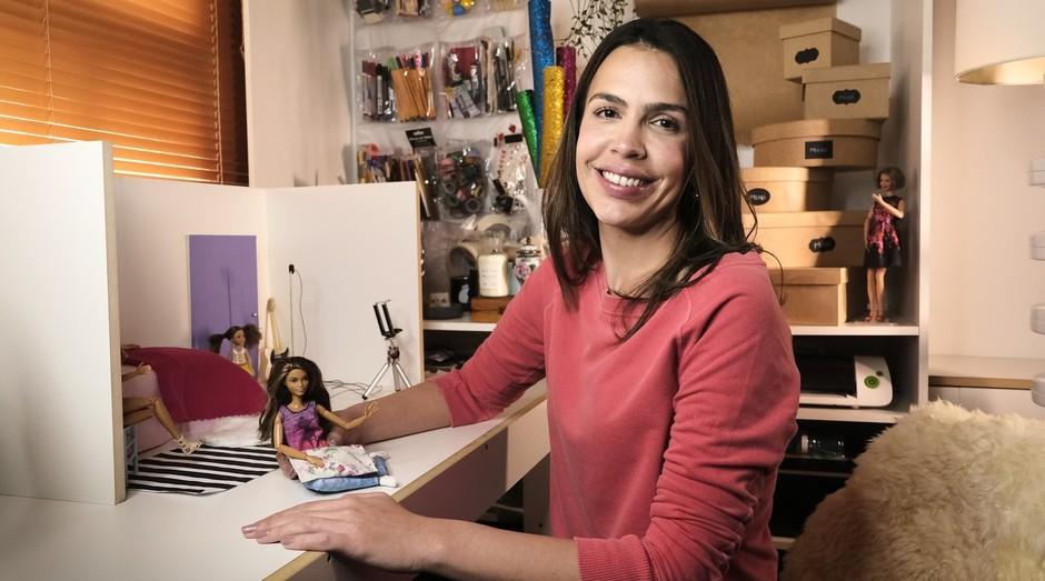 Lara Baptista, criadora do canal Caseirices Kids (Foto: Divulgação)