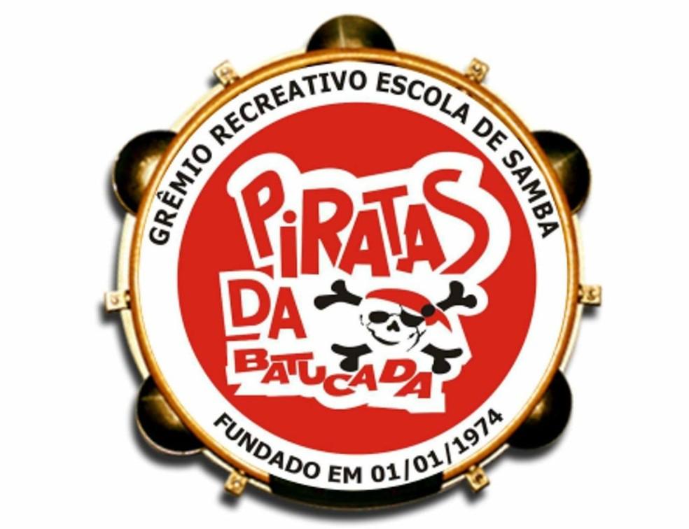 Escola de Samba Piratas da Batucada — Foto: Reprodução
