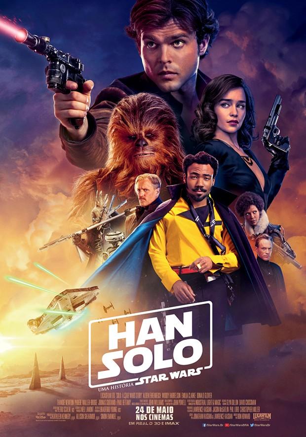 """Poster do filme """"Han Solo: Uma História Star Wars"""" (Foto: Divulgação/Disney)"""