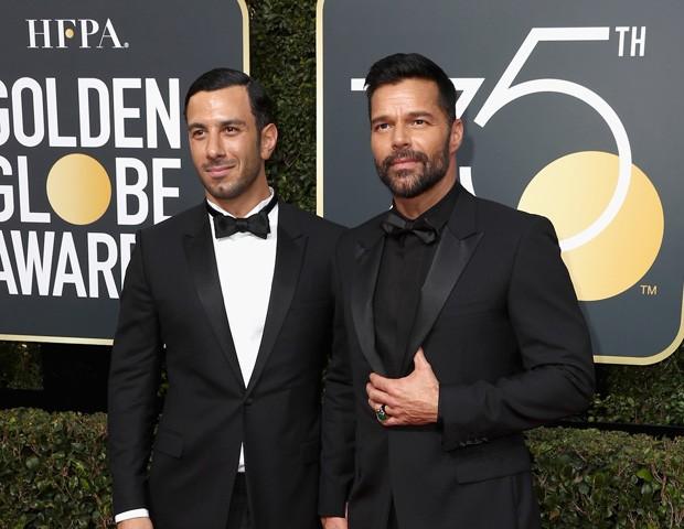 Ricky Martin e Jwan Yosef (Foto: Getty Images)