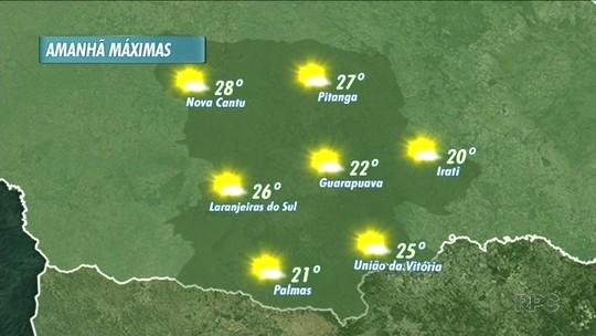 A sexta-feira vai ser de temperaturas amenas nas cidades da região
