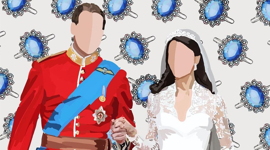Amelia Noyes faz ilustrações inspiradas na Família Real (Foto: Reprodução/instagram/iamnoyes)