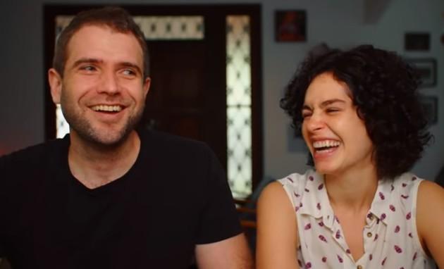 Emanuel Aragão e Maria Flor serão pais de um menino (Foto: Reprodução/Instagram)