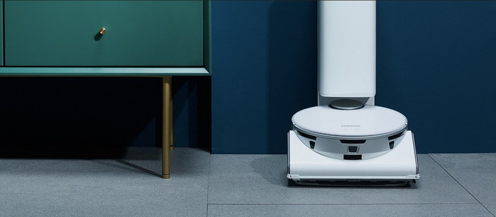 O JetBot 90AI+ é o primeiro a possuir uma inteligência artificial da Intel — Foto: Divulgação
