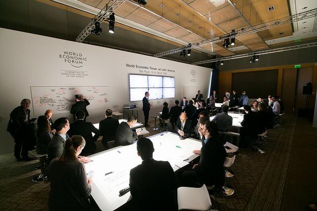 25 startups brasileiras foram selecionadas pelo WEF e pelo IFC para participar da edição Fórum Econômico América Latina (Foto: World Economic Forum / Benedikt von Loebell)
