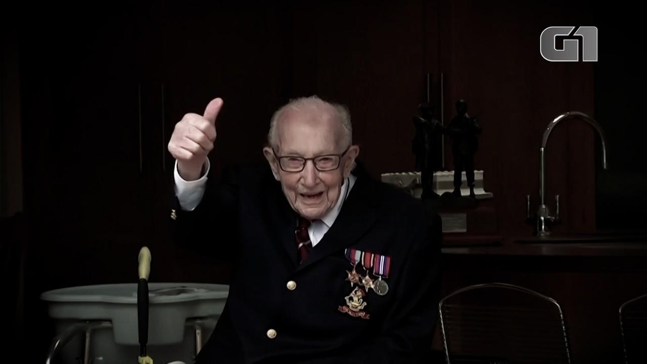 Capitão de 100 anos que levantou milhões para a saúde britânica morre de Covid-19