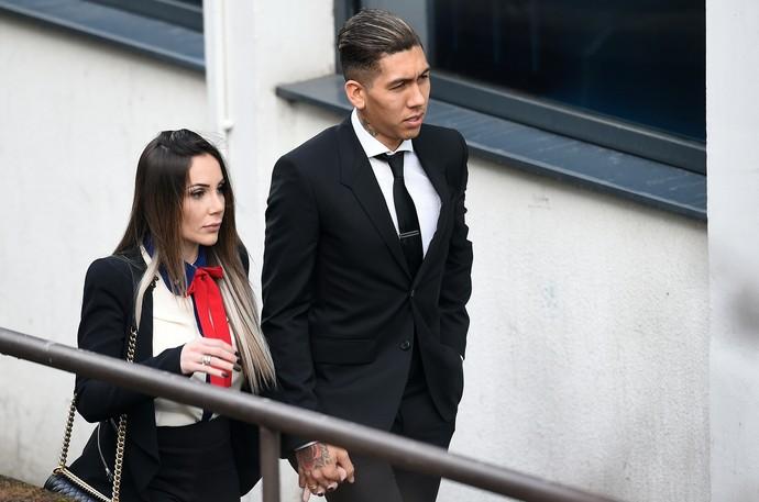Roberto Firmino Liverpool  (Foto: AFP)