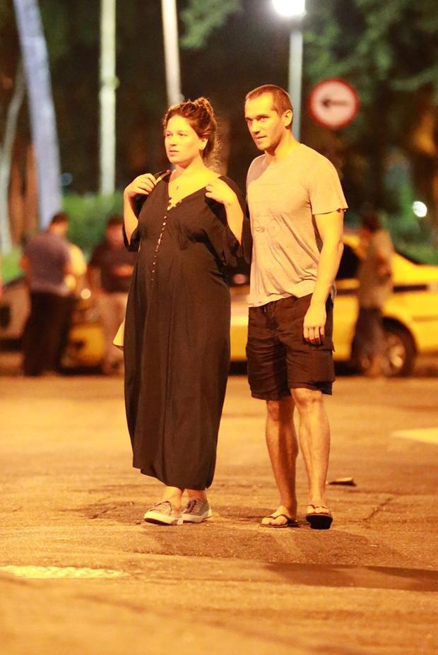 Paulo Rocha e a mulher, Juliana Pereira (Foto: Agnews)