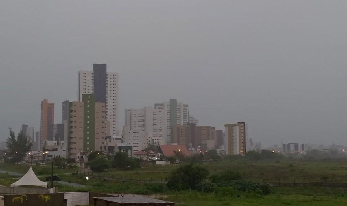 Inmet emite alerta de acumulado de chuvas para João Pessoa e mais cinco cidades