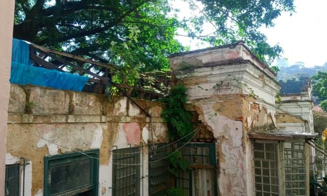 Casa em que Portinari morou no Cosme Velho, no Rio