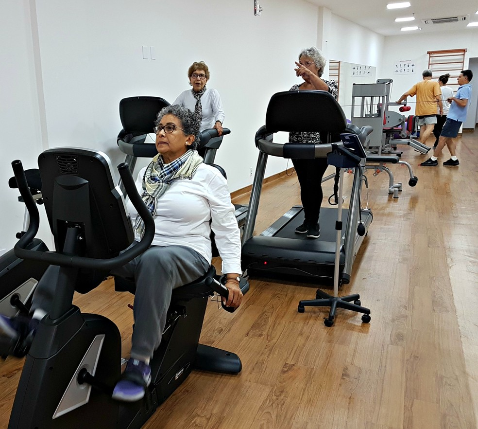 Objetivo da reabilitação cardíaca é dar uma vida normal ao paciente após um evento do coração (Foto: Renata Domingues)