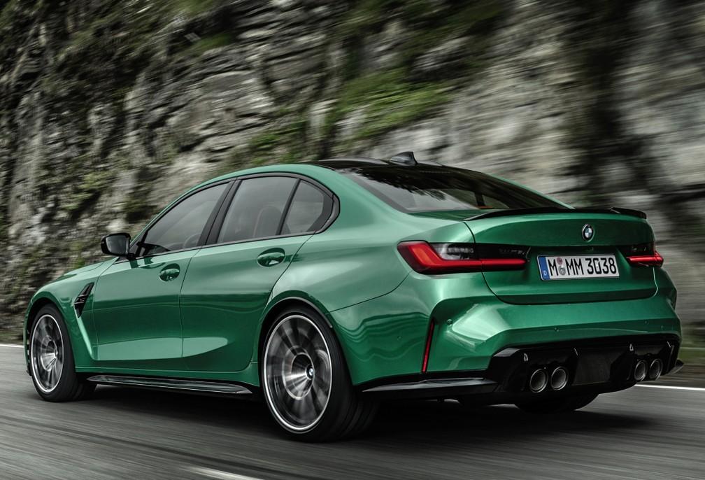 BMW M3 — Foto: Divulgação/BMW