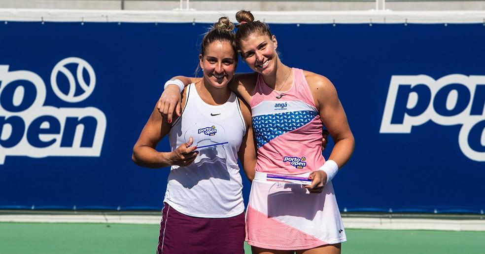 Bia Haddad vence e garante terceiro título em Portugal; Carol Meligeni é campeã nas duplas | tênis | ge