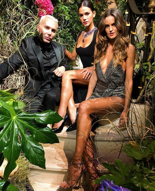 Matheus Mazzafera, Bruna Marquezine e Izabel Goulart (Foto: Reprodução/Instagram)