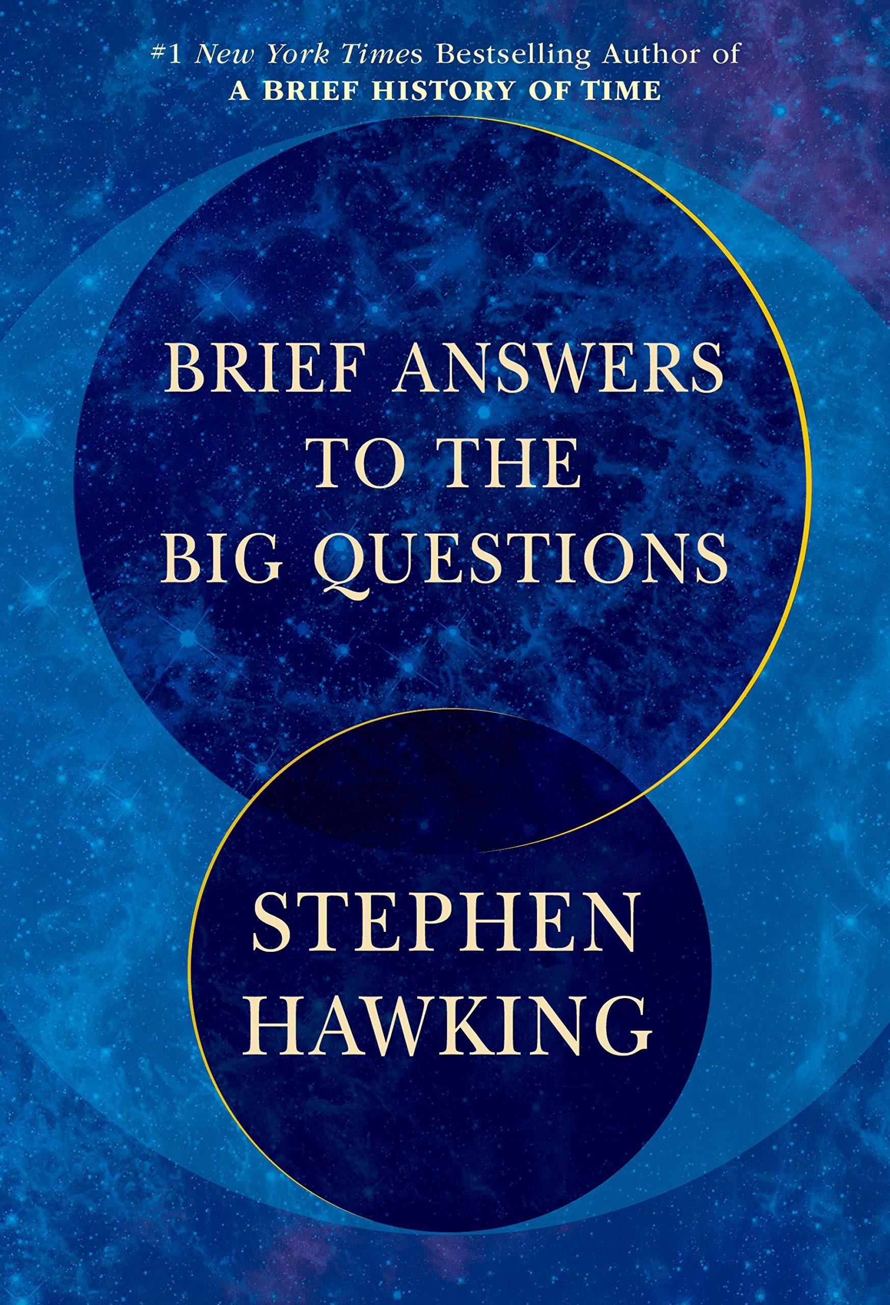 Edição norte-americana de Brief Answers to the Big Questions (Foto: Bantam Books)