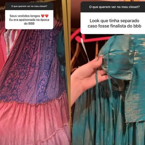 Marcela Mc Gowan mostra seu closet para os fãs (Foto: Reprodução)