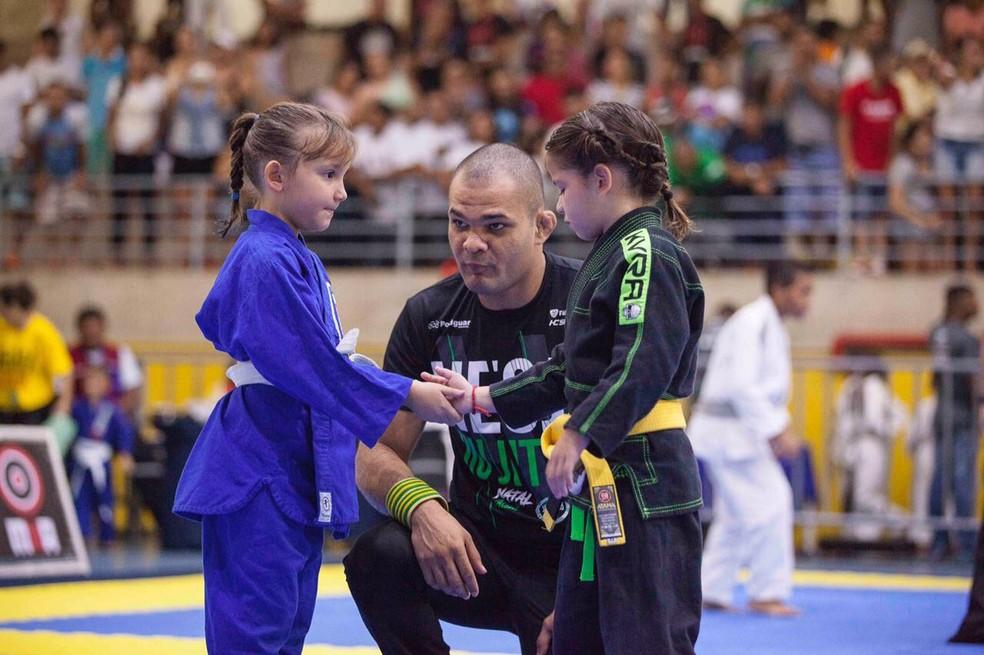 Nordeste Open de Jiu-Jitsu, em Natal, terá participação maciça de crianças (Foto: Tiago Lima/Divulgação)