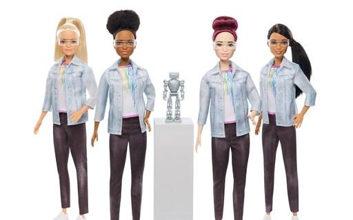 'Barbie engenheira robótica' quer incentivar meninas a programar