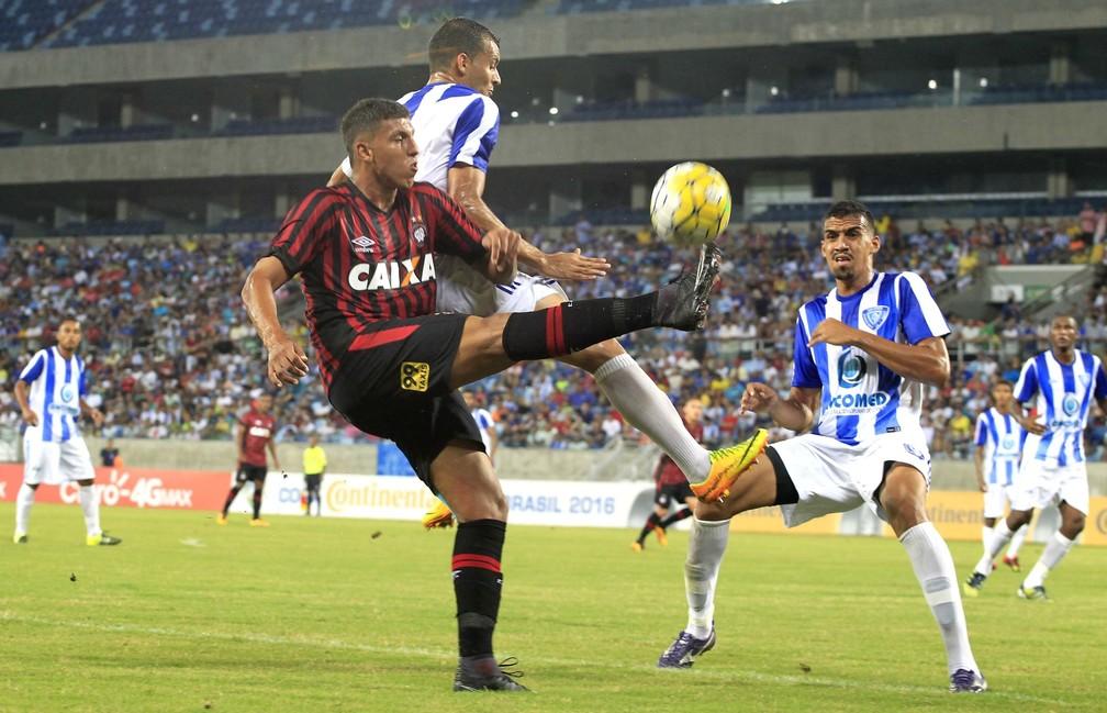 Dom Bosco em sua última participação em competição nacional, recebeu o Atlético-PR, pela segunda fase da Copa do Brasil de 2016 (Foto: Futura Press)