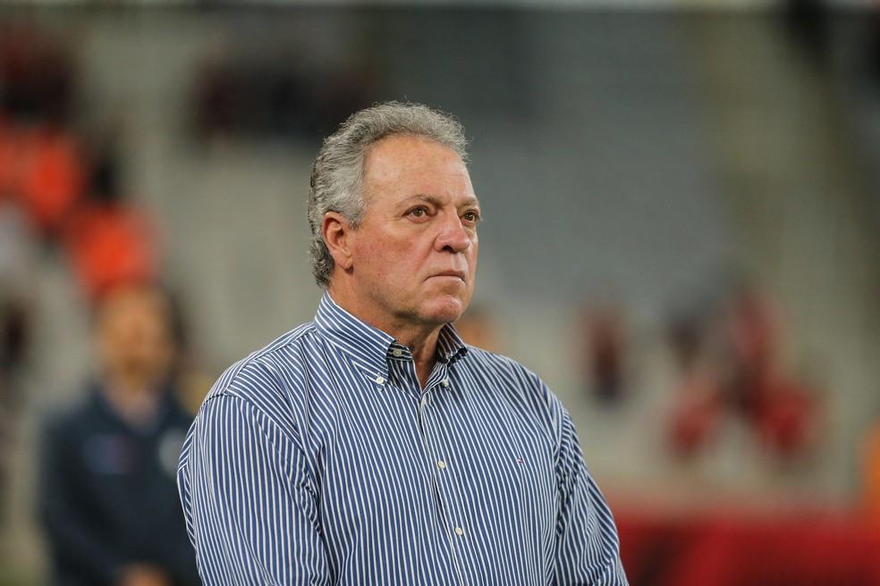 Abel Braga atualmente é técnico do Vasco — Foto: Geraldo Bubniak / Light Press