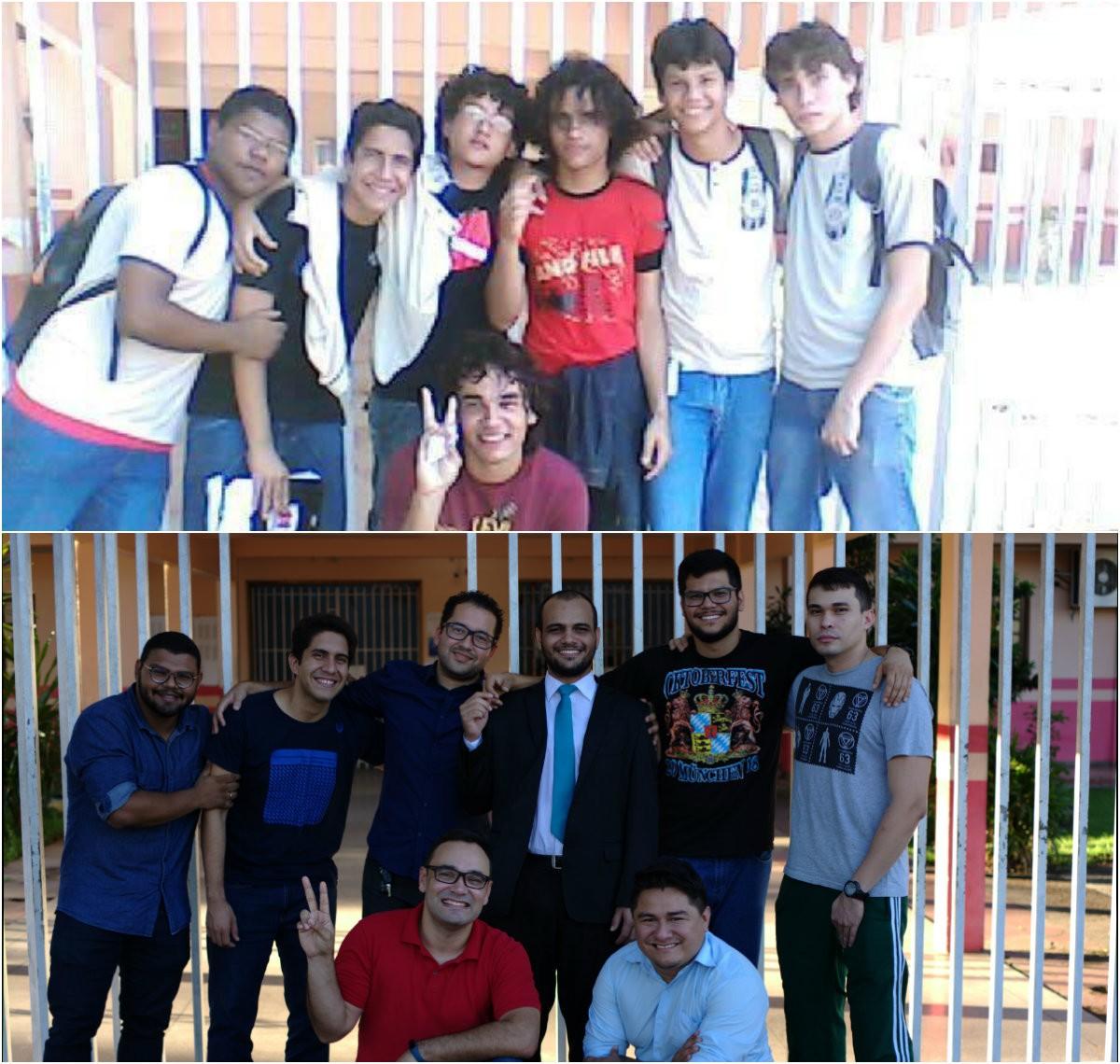 'Laços são tão fortes quanto família', define grupo de 8 homens sobre amizade iniciada na escola