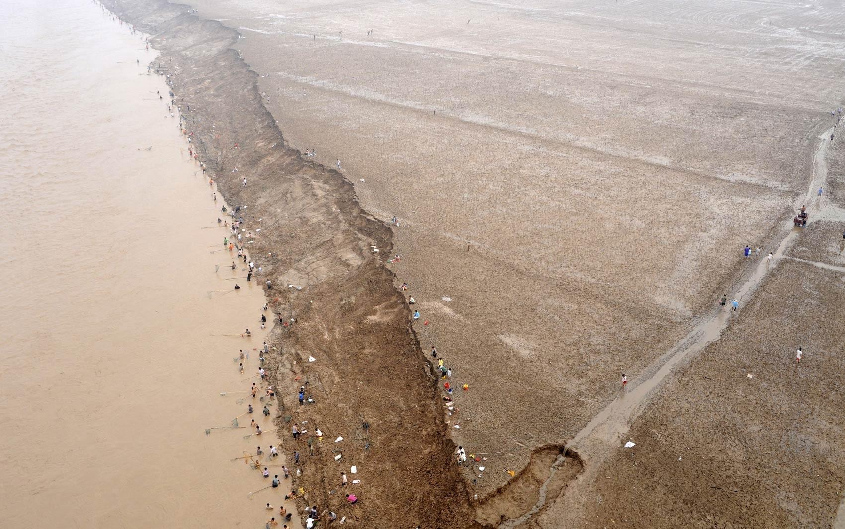 China proíbe turismo nas fontes do rio Amarelo