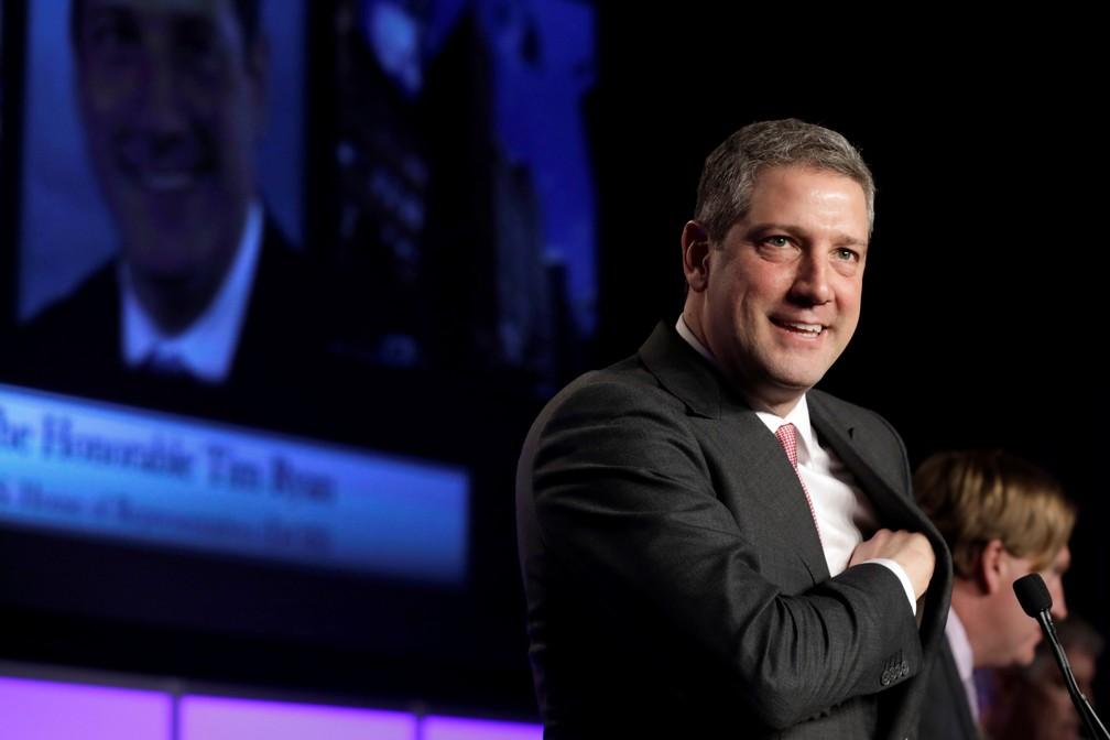 O pré-candidato democrata Tim Ryan. — Foto: Yuri Gripas/Reuters