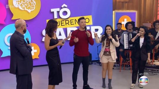 Maiara, da dupla com Maraisa, brinca com Fátima Bernardes sobre casamento