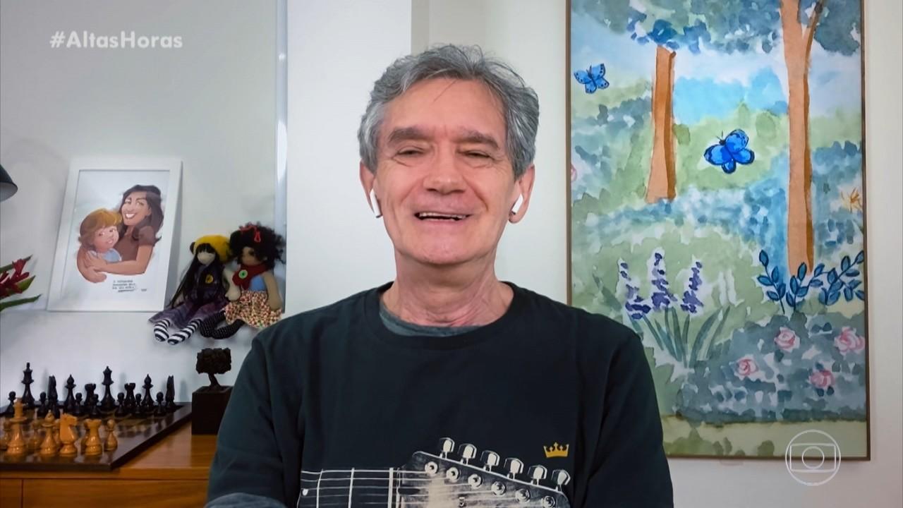 Serginho Groisman comemora 70 anos e agradece carinho dos amigos pelas mensagens virtuais