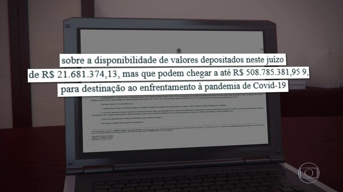 Juíza suspende repasse de R$ 500 milhões da Lava Jato ao combate da Covid-19 até decisão do STF – G1