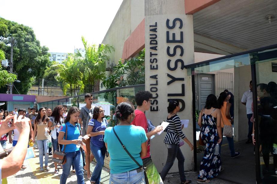 No Pará, 251 mil estudantes farão a segunda prova do Enem 2017 neste domingo