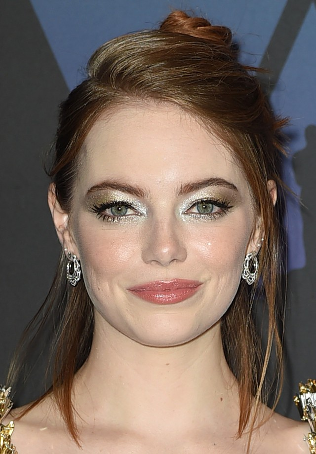 Emma Stone no Governor's Ball (Foto: Getty Images)