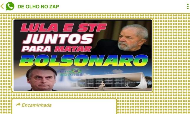 Falsa conspiração atiçou bolsonaristas, que chegaram a prever 'muitas prisões' na hipótese de envolvimento do Supremo e de Lula com Adélio Bispo