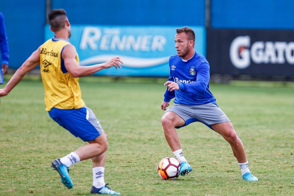Arthur deve se transferir ao Barcelona em 2019 (Foto: Lucas Uebel/Divulgação Grêmio)