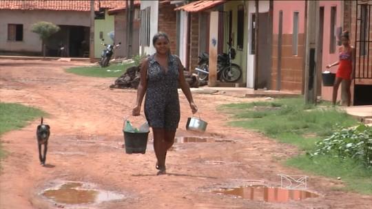 População Timbiras reclama da falta de água no município
