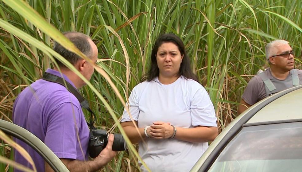 Taiana Lozano está presa desde janeiro deste ano na Penitenciária Feminina de Tremembé, SP — Foto: Ronaldo Gomes/EPTV
