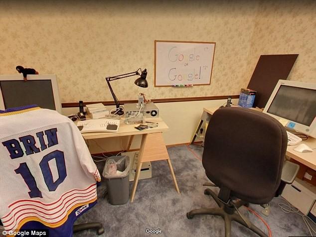 Primeira sede do Google (Foto: Divulgação)