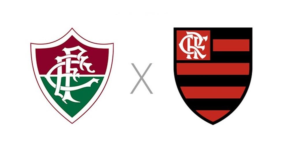 Fluminense x Flamengo  — Foto: Reprodução