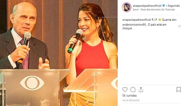 Ana Paula Padrão (Foto: Reprodução)