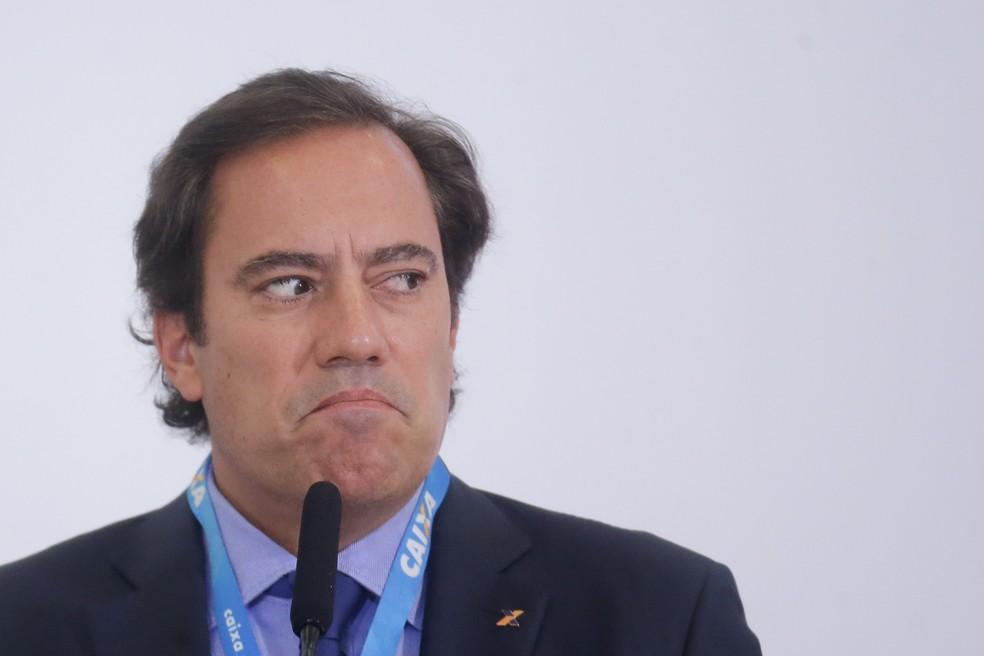 Pedro Guimarães, presidente da Caixa — Foto: Dida Sampaio/Estadão Conteúdo
