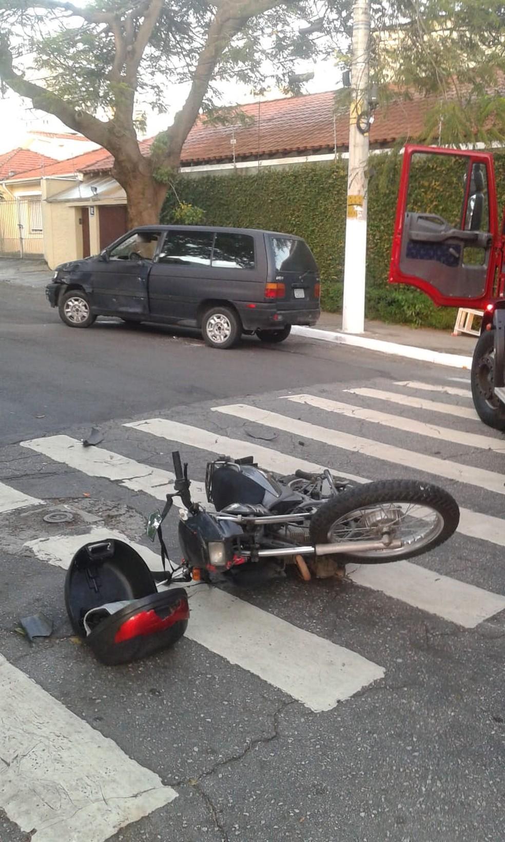 PM em moto morre após colidir com carro com motorista embriagado  — Foto: Divulgação