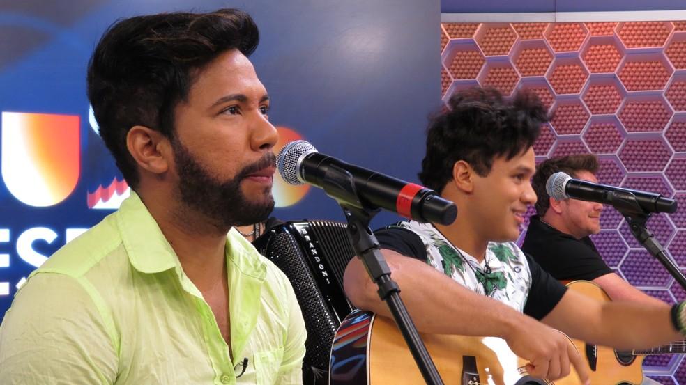 João Lucas e Marcelo - Tchu Tcha Tcha era uma das mais tocadas em 2012 nas rádios do Brasil  (Foto: Daniel Cardoso)