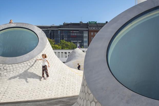 Helsinki ganha espaço de artes subterrâneo (Foto: Divulgação JKMM/ Mika Huisman)