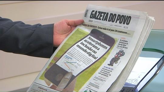 Gazeta do Povo está com novo formato