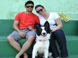 Tratamentos psicológicos para o cão (Foto: Ana Paula Dias/Arquivo Pessoal)