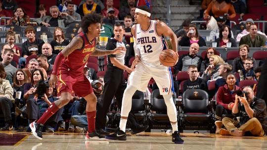 Melhores momentos de Cleveland Cavaliers 95 x 114 Philadelphia 76ers pela NBA