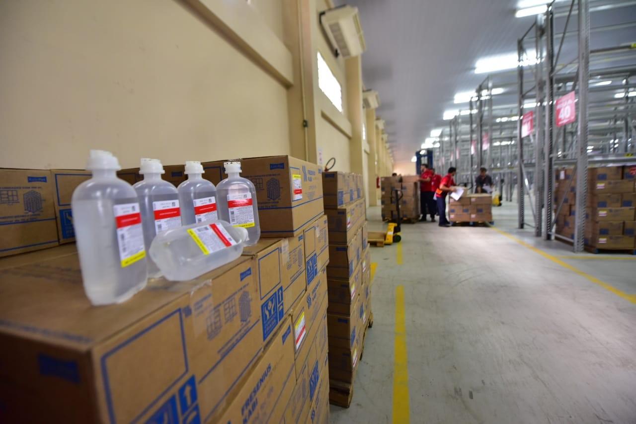 Central de Medicamentos envia 8,4 mil bolsas de soro para 15 municípios do AM - Noticias