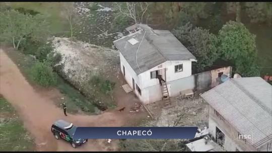 Oito são presos em Chapecó suspeitos de integrar grupo criminoso