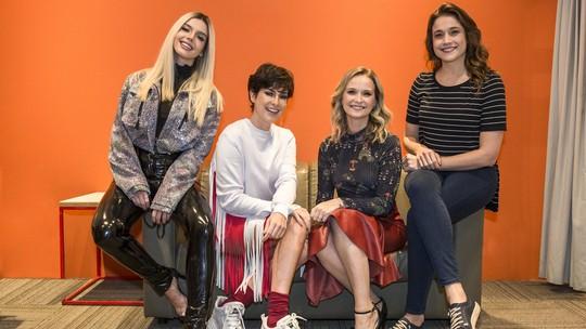 Fernanda Gentil e Giovanna Lancellotti confessam loucuras como fãs de Sandy & Junior