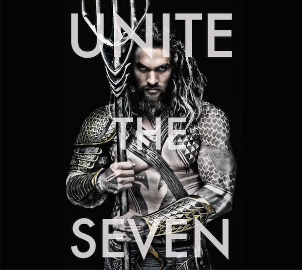 O ator Jason Momoa no papel do herói Aquaman (Foto: Reprodução)